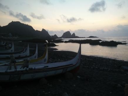 Orchid Island, yami boat - Cin Cina