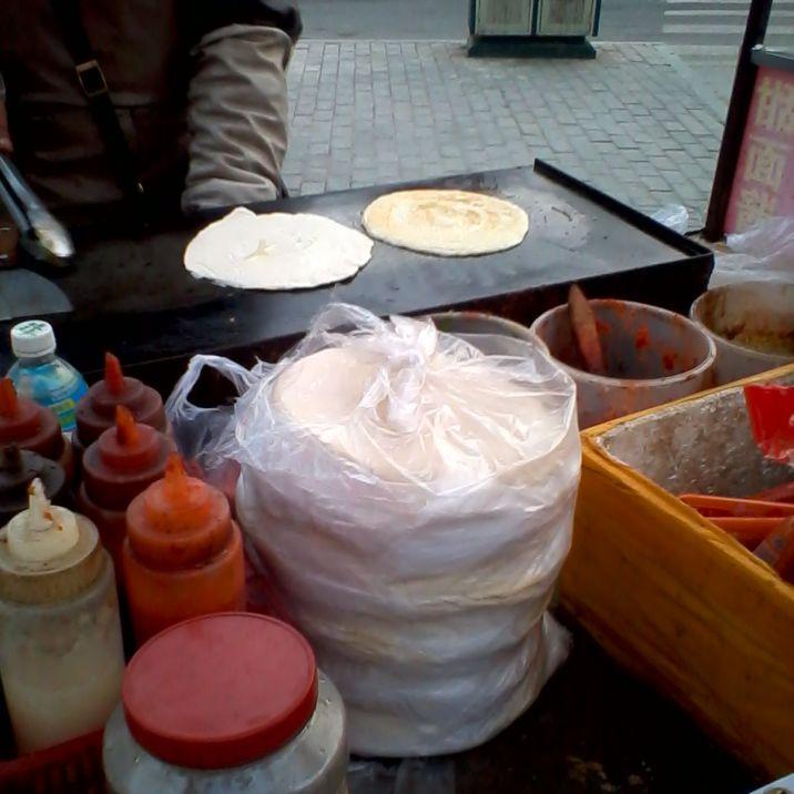 piadina salata (cibo di strada)