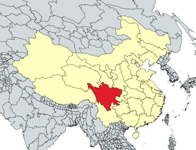 chuancai map
