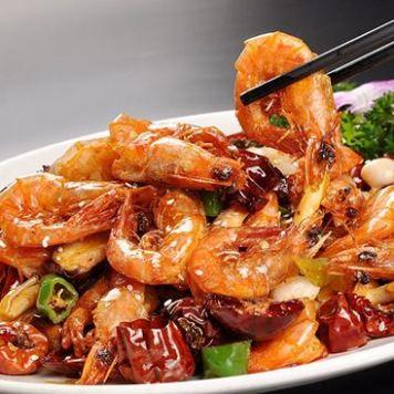 gamberi piccanti 香辣虾