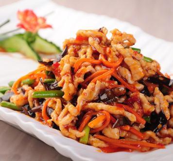 striscette di maiale 鱼香肉丝