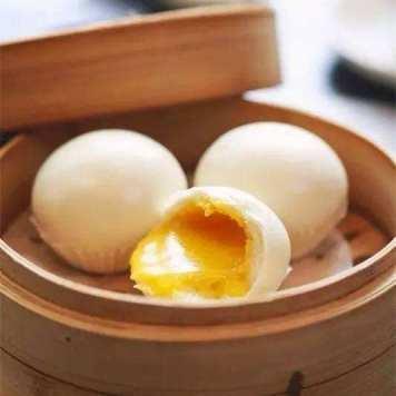 baozi all'uovo liushabao 流沙包
