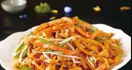 fettuccine di riso 炒河粉