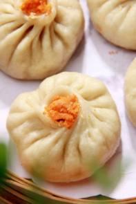 ravioli ai gamberi 蟹黄包2