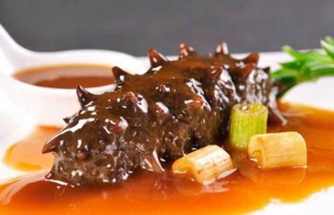 cetriolo di mare 葱烧海参