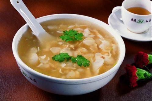 zuppa di pesce 乌鱼蛋汤
