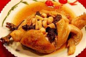 pollo ripieno 布袋鸡