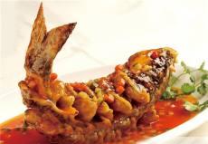 pesce fritto caramellato 糖醋黄河鲤鱼