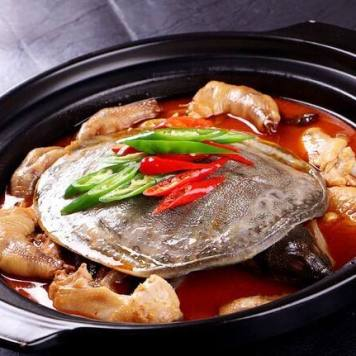 鸡火鳖汤 zuppa pollo e tartaruga