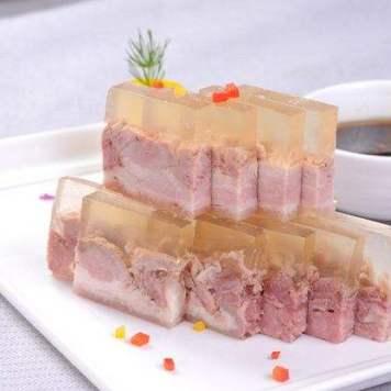 prosciutto imbudinato 水晶肴肉