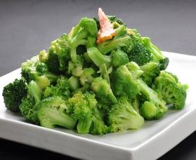 清炒西兰花 broccoli