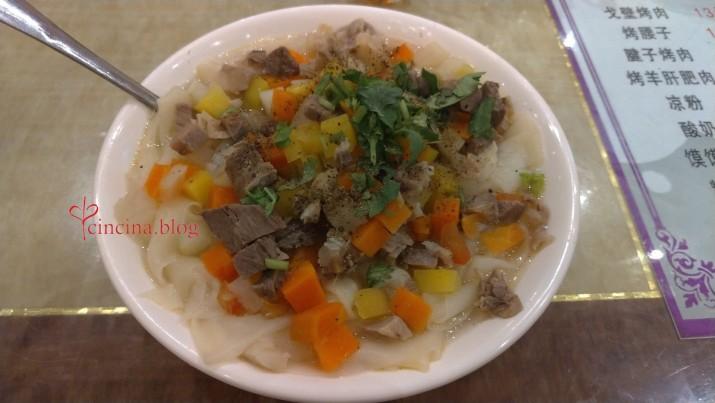 zuppa pasta uyghura